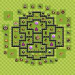 Clash Of Clans 8. Seviye Köy düzeni 2