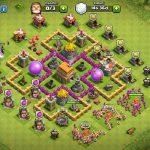 Clash Of Clans 6. Seviye Köy Düzeni 3