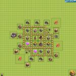 Clash Of Clans 6. Seviye Köy Düzeni 6