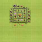 Clash Of Clans 6. Seviye Köy Düzeni 66