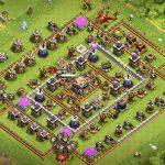 Clash Of Clans 11. Seviye Köy Binası Düzeni Ganimet ve Kupa