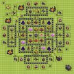 Clash Of Clans 9. Seviye Köy Düzeni 2021